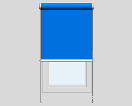 Revit, BIM, Download, Free, Components, Window, Décor, R40, Premium, Sidewinder, Roller, Blind