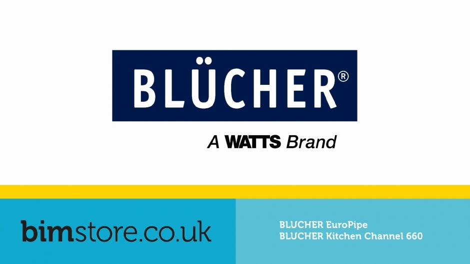 Video: BLÜCHER® - EuroPipe & Kitchen Channel 660 Revit Components
