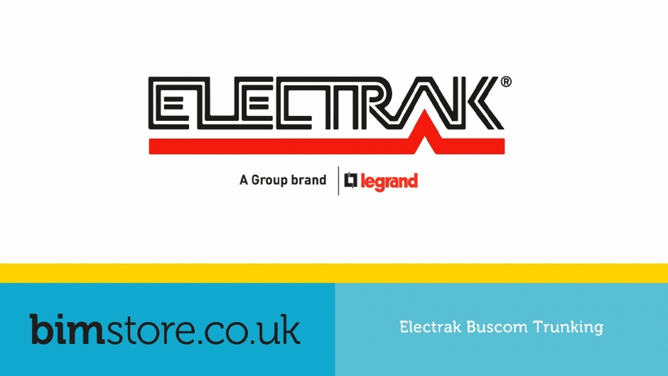Video: Legrand Electrak - Buscom Trunking Revit Components