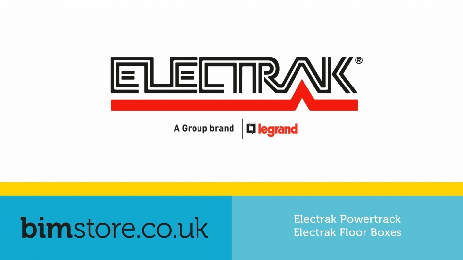 Video: Legrand Electrak - Powertrack & Floor Boxes Revit Components
