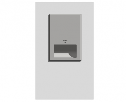 Modric Recessed Hand Dryer Panel (SS2470)