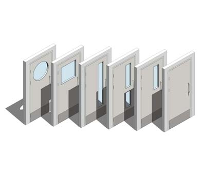 Image of Altro Whiterock Doorsets - Single