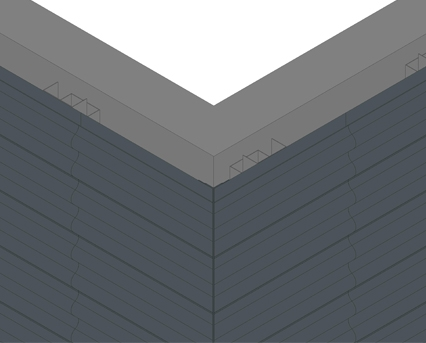 Revit, BIM, Download, Free, Components, Bailey, total,building,envelope,rainscreen,cladding,summit,profiled,secret,fix,extruded,aluminium,PPC,anodised,crest,wave,vee,square