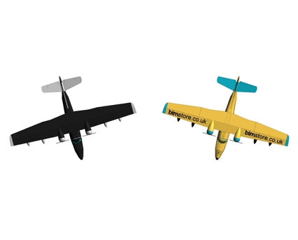 Revit, BIM, Download,Free,Components,Object,BIM,World,airplane,expendables,grumman,HU-16,albatross