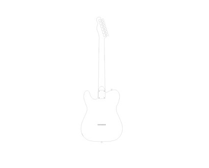 Revit, BIM, Download,Free,Components,Object,guitar,telecaster,fender,electric,music,instrument