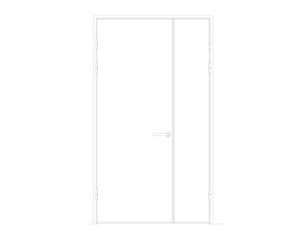 Revit, BIM, Download, Free, Components, Object, Interspec, Single, Door, Lloyd, Worrall, Half, leaf, ironmongery, doorset, detail, 00