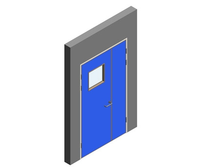Revit, BIM, Download, Free, Components, Object, Interspec, Single, Door, Lloyd, Worrall, Half, leaf, ironmongery, doorset, detail, 04