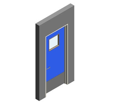 Revit, BIM, Download, Free, Components,Object,Interspec, Single, Door, 04, Lloyd, Worrall,single,leaf,ironmongery,doorset,detail,