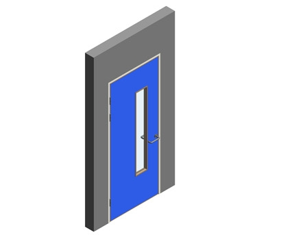 Revit, BIM, Download, Free, Components,Object,Interspec, Single, Door, 14, Lloyd, Worrall,single,leaf,ironmongery,doorset,detail,