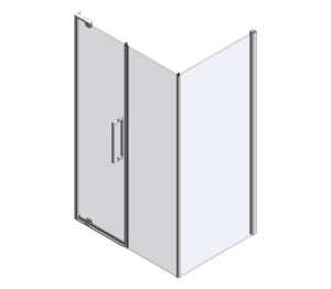 10 Series Pivot Door & Inline Panel