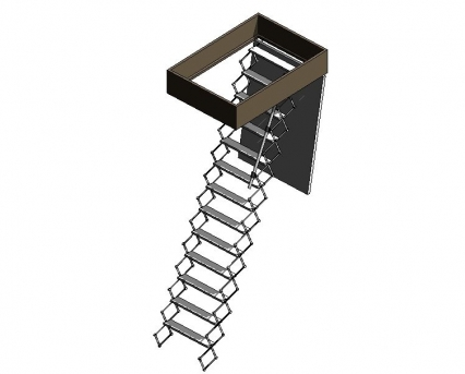 BIM, Store, Revit, Component, Object, Model, Premier, Loft, Ladders, Supreme, Wall, Ceiling