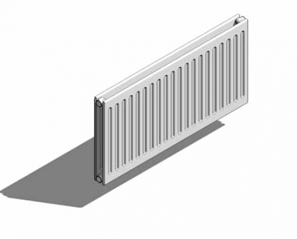 Revit, BIM, Download, Free, Components, object, objects, QRL, radiator, heating, mechanical, Vertical, Panel, range, equipment, radiators, space, Round, Top, UK, RT