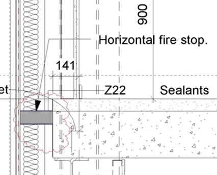 Curtain Wall Fire Stopping | Gopelling net
