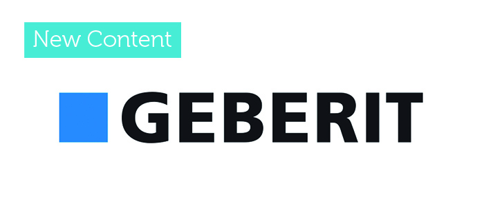 Geberit now live on bimstore!