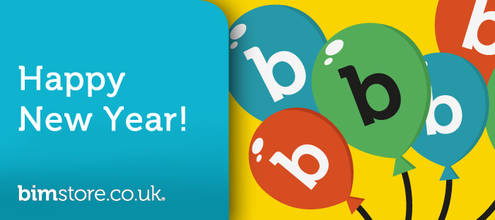 Happy New Year from bimstore!