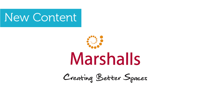 New Content now live for Marshalls Plc.