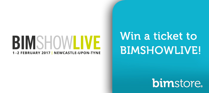 Win your ticket to BIM Show Live 2017 with <strong>bim</strong>store!