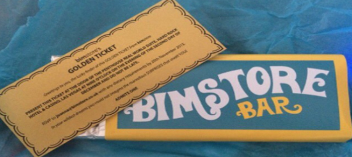 I've got a bimstore golden ticket!