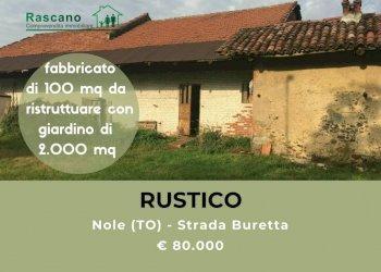 Foto 1 di Rustico strada Buretta, Nole