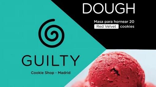 Masa para 20 Cookies GUILTY® Red Velvet