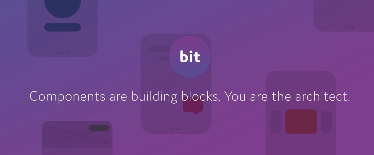 Share reusable code components as a team · Bit