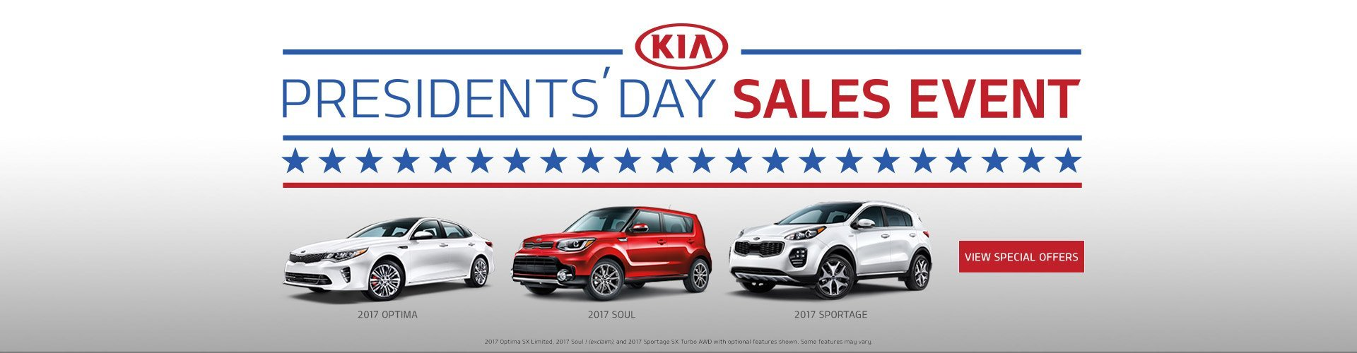 kia presidents day sale