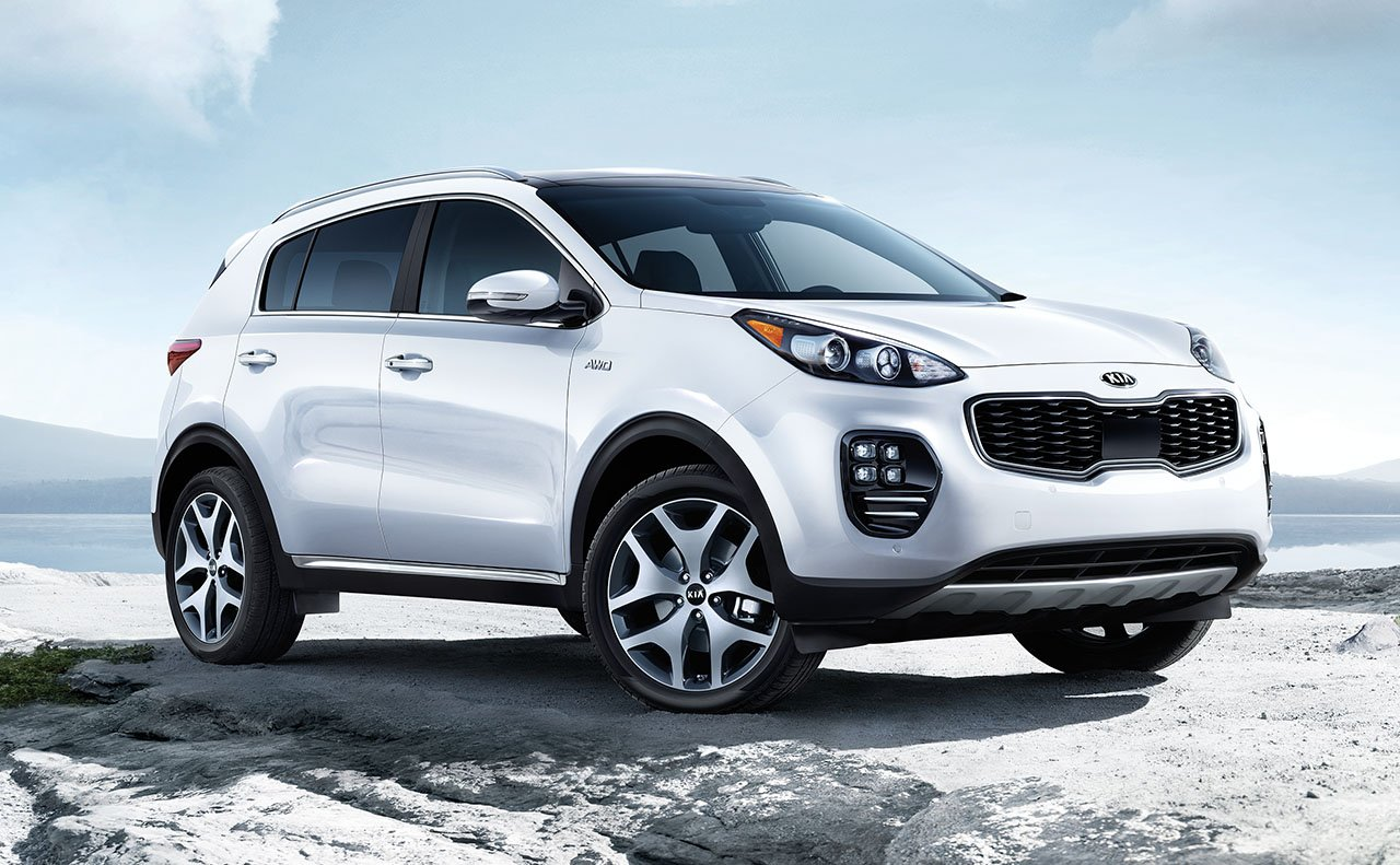 Test Drive the Kia Sportage SUV in Hamburg