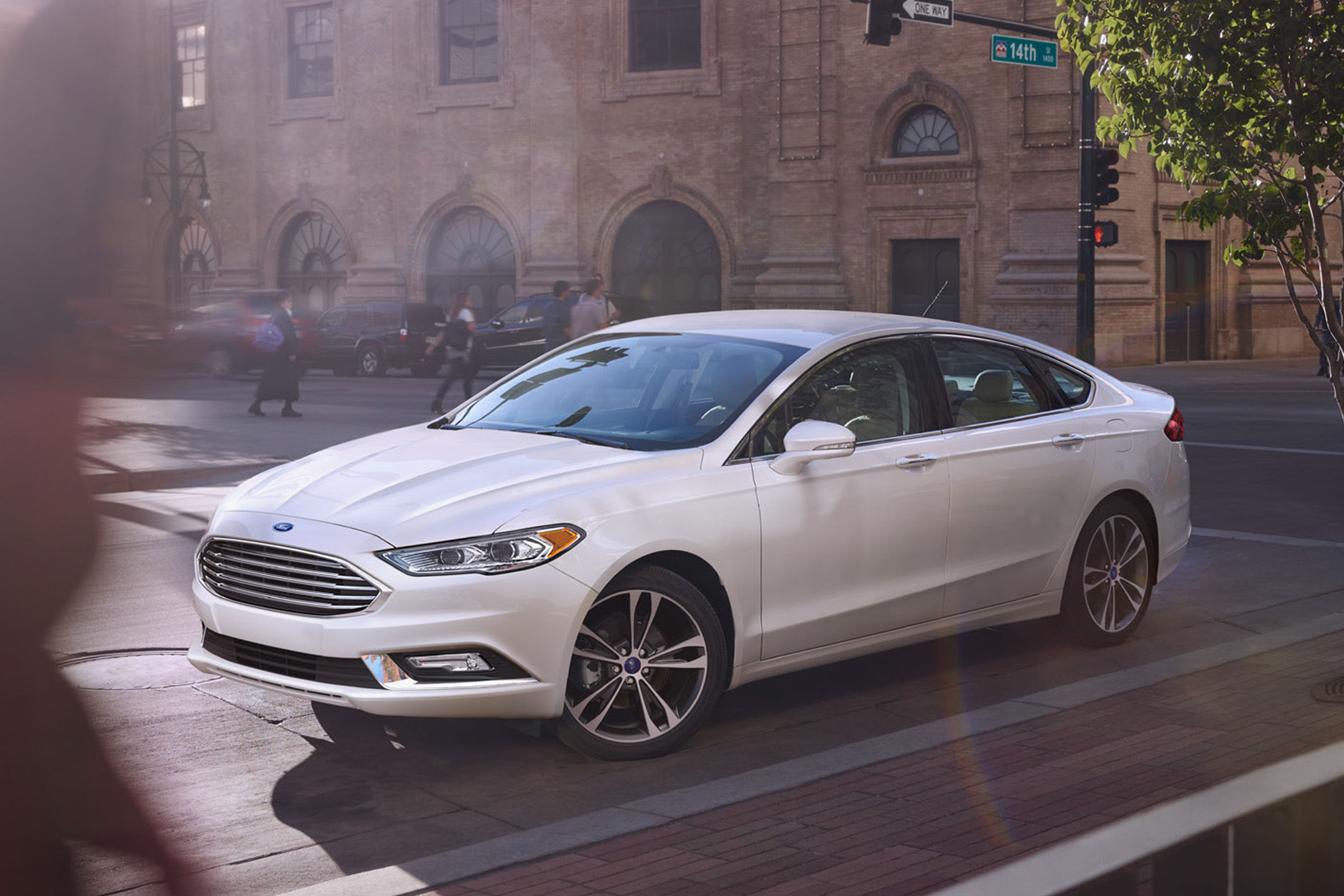 ford hybrid test fusion driving reviews car road review platinum titanium