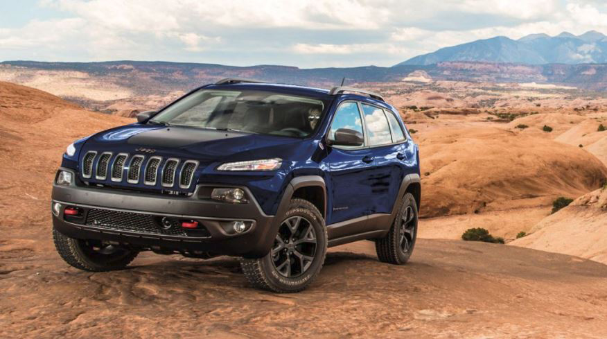Jeep Cherokee in the Desert Off Road Performance