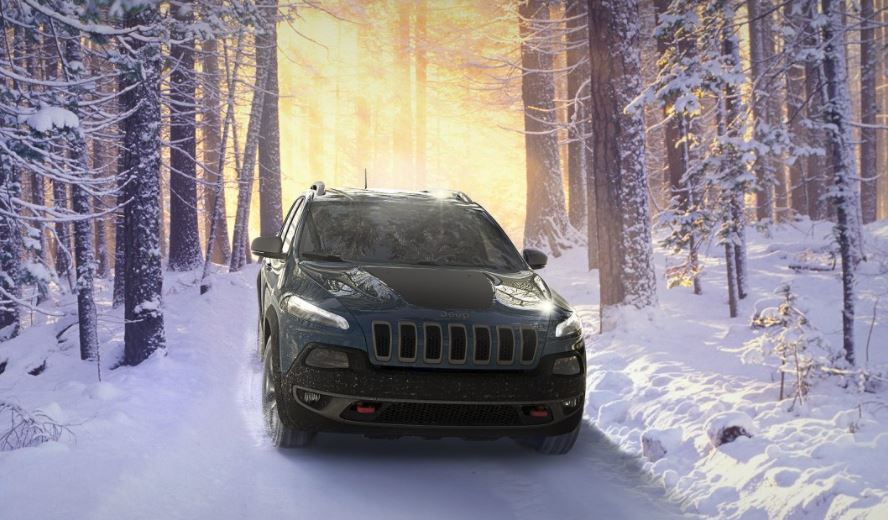 Jeep Cherokee High Performance in the Snow
