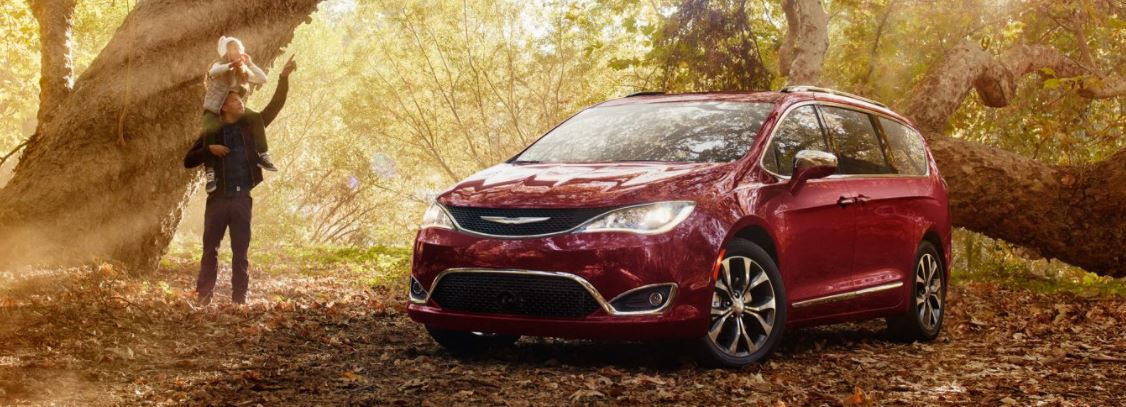 Test Drive the All New Chrysler Pacifica in New Castle