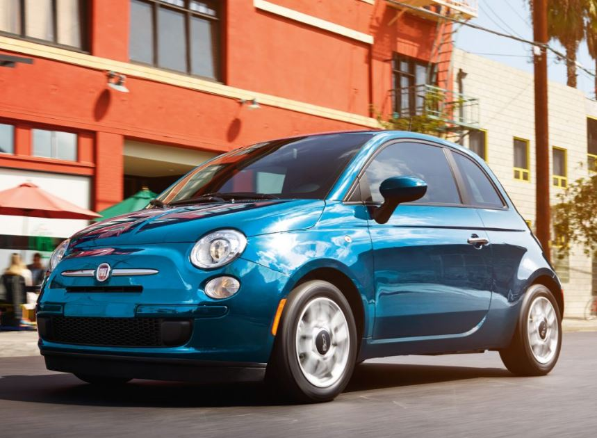 Test Drive the Fiat 500 in New Castle