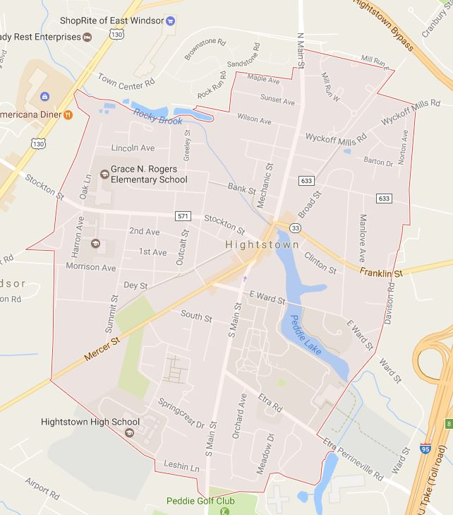 location of dealership in Highstown nj