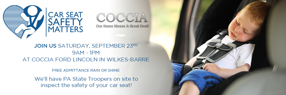 Car Seat Safety Check At Coccia Ford