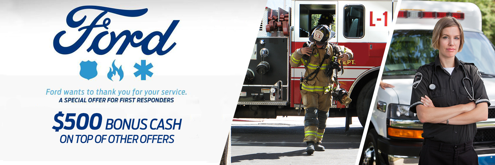 Ford First Responder >> Haldeman Ford First Responder Appreciaiton Program