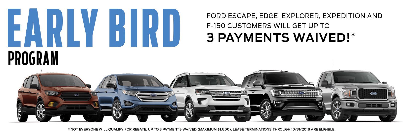 Ford Early Bird Program Early Lease Termination