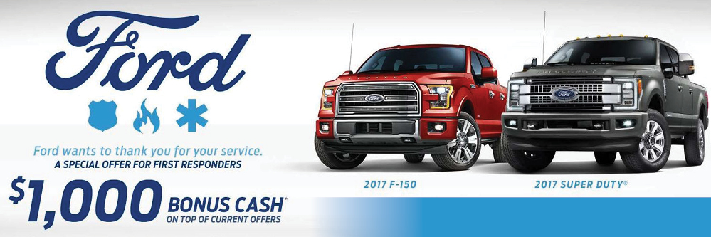 ford 1st response rebates