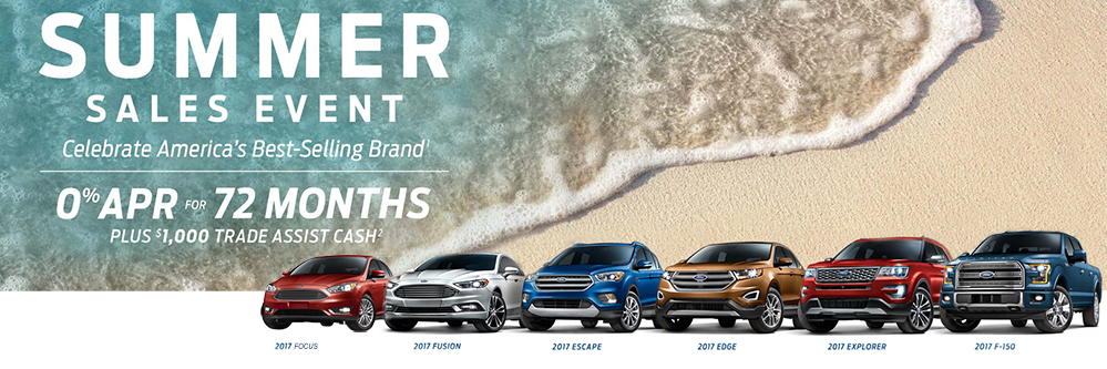 Ford Summer Sale 2017
