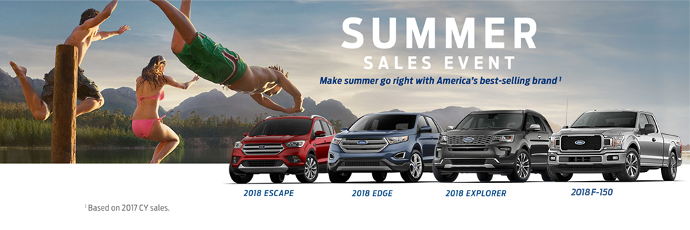 Ford Summer Sale 2018