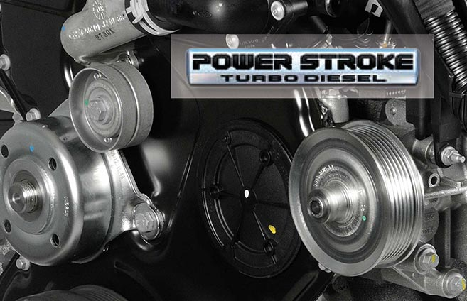 Power Stroke Diesel engine service
