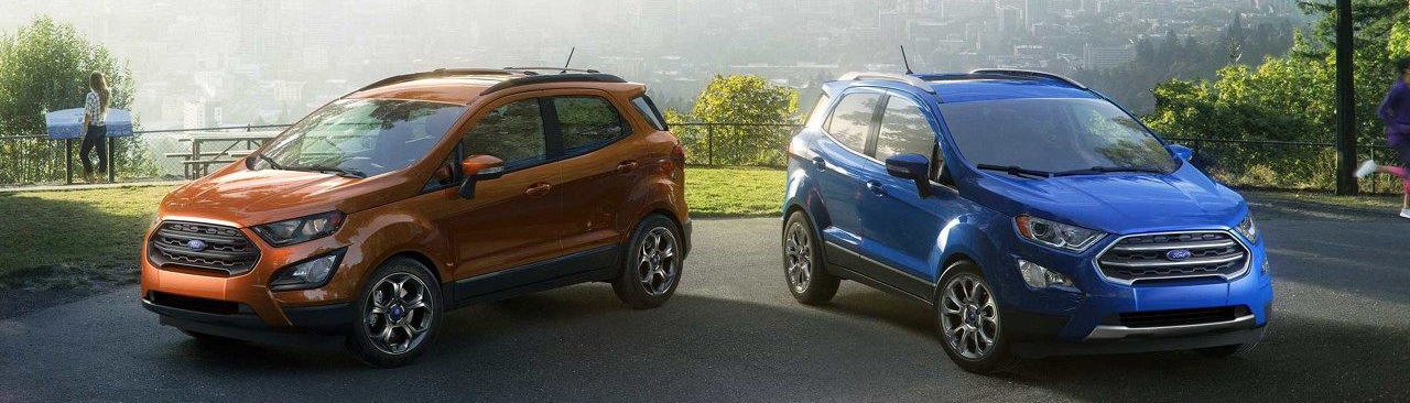 2018 Ford EcoSport Blue Orange