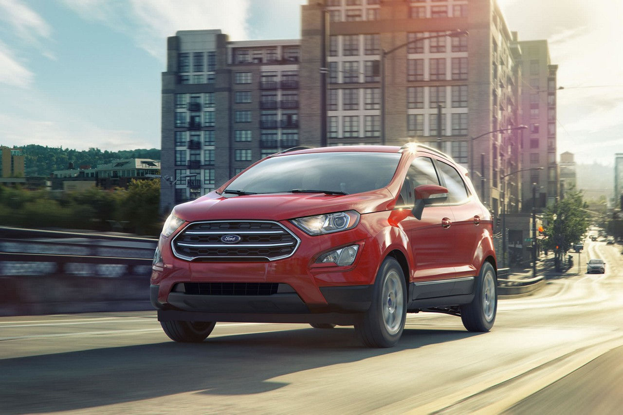 2018 red ford ecosport