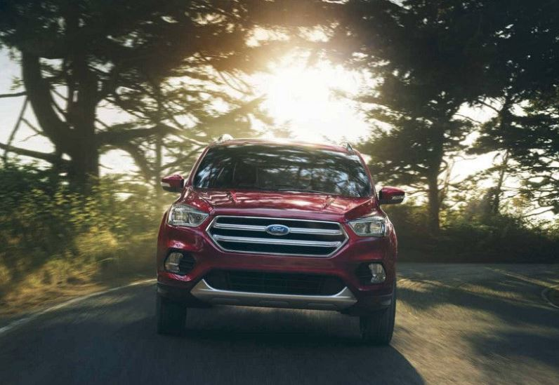2018 Ford Escape Red