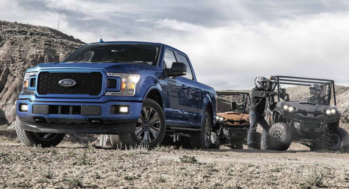 2018 Ford F-150 Blue Ford F-Series
