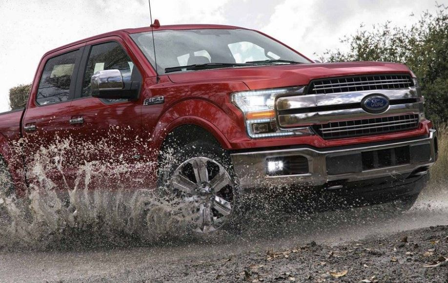 2018 Ford F-150 Red Ford F-Series