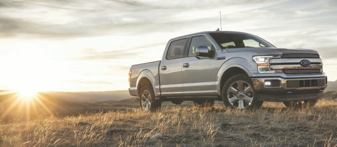 2018 Ford F-150 Gray Silver Ford F-Series