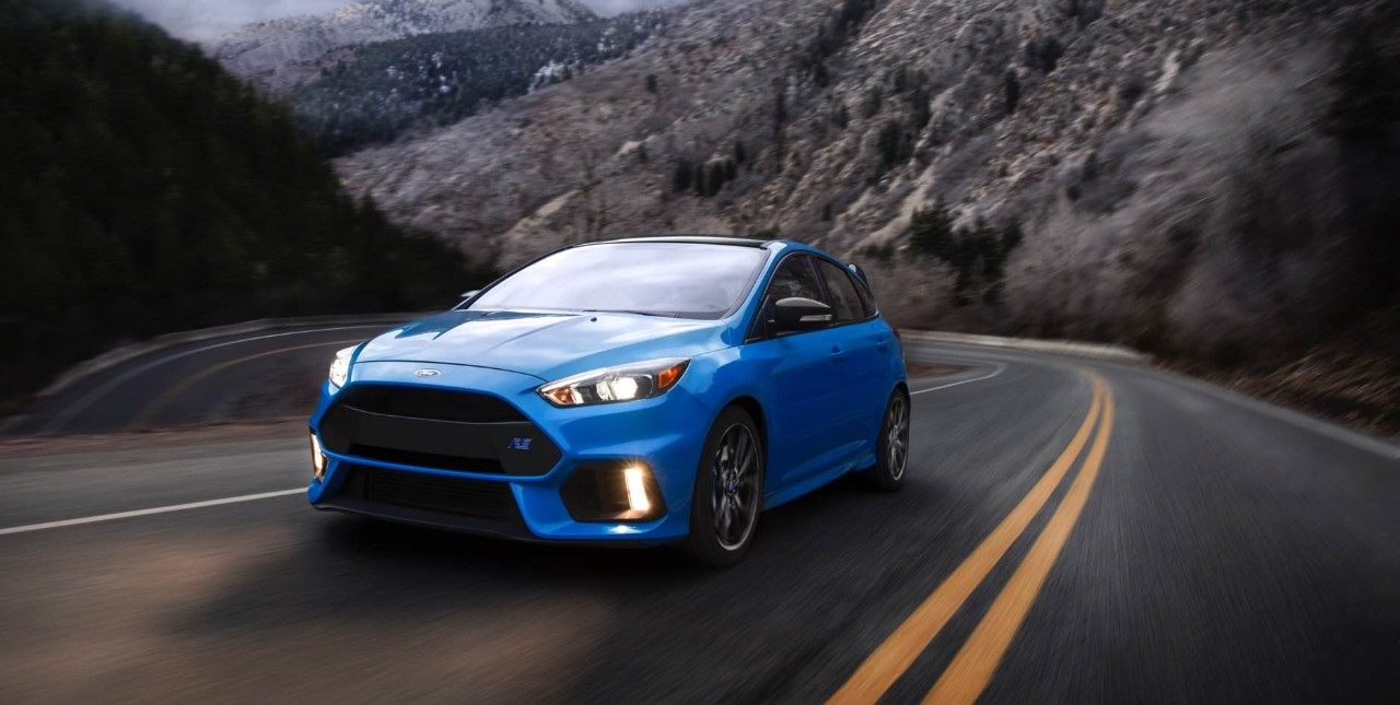 2018 Ford Focus RS blue