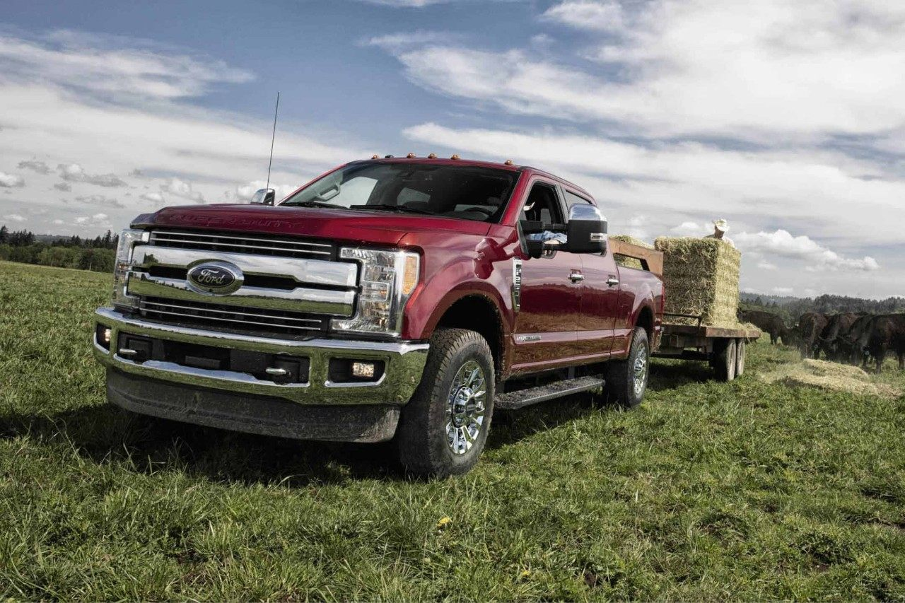 2018 Red Ford Super Duty