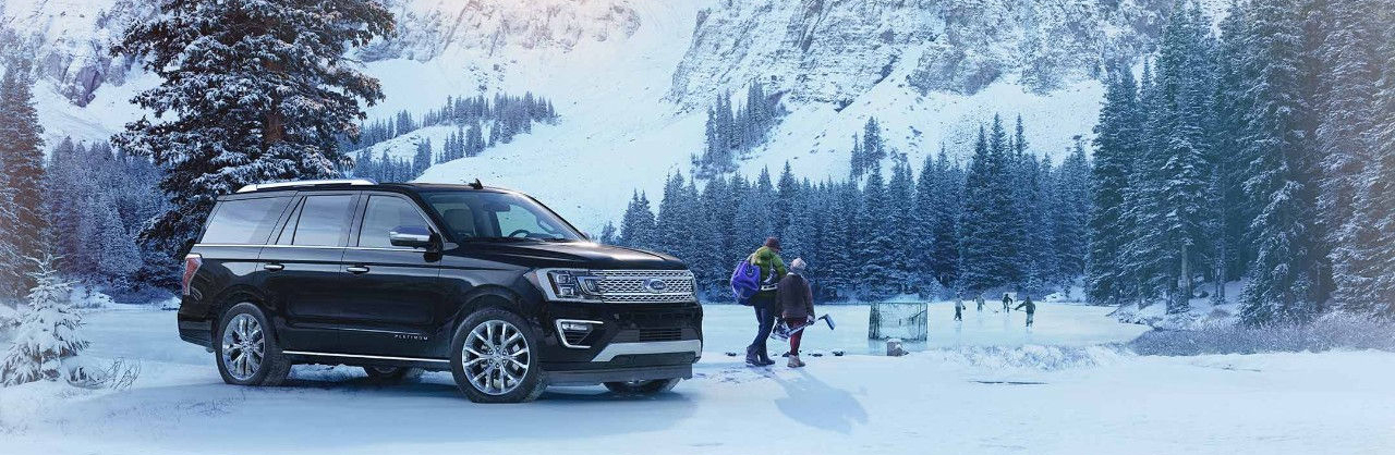 2018 Ford Expedition Black