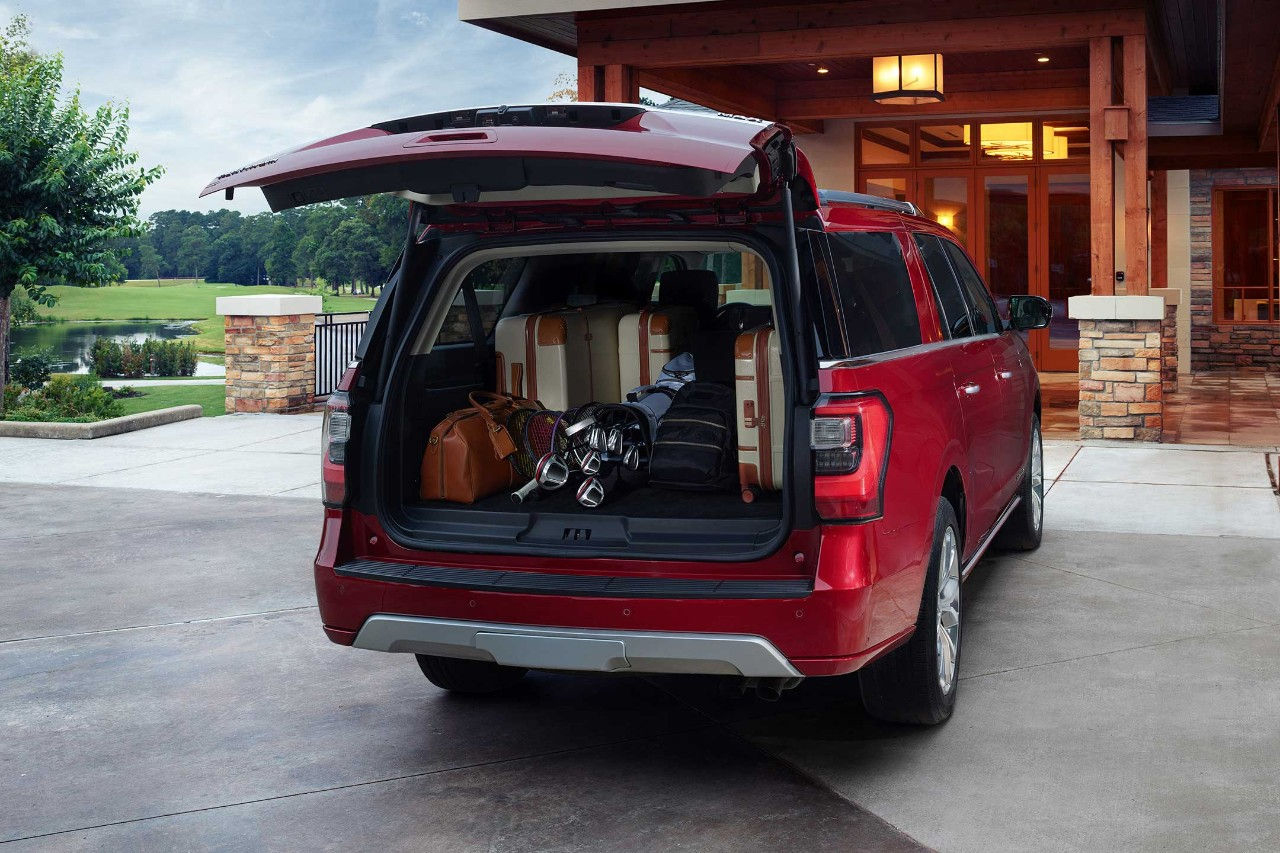 2018 Ford Expedition cargo space